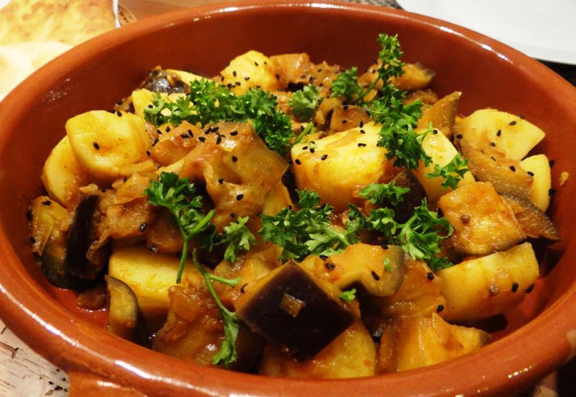 Auberginen – Kartoffel – Curry