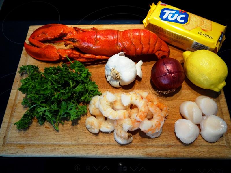 Gefüllter Hummer - Stuffed Lobster
