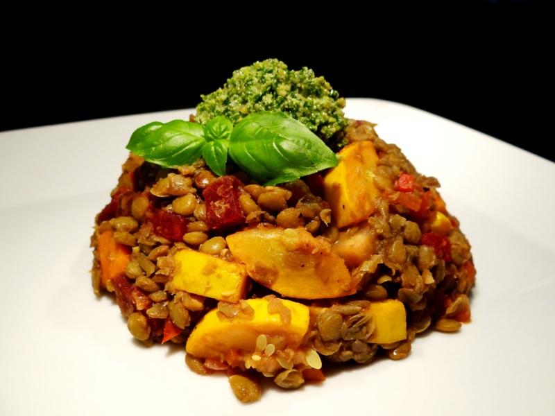 Linsen-Gemüse