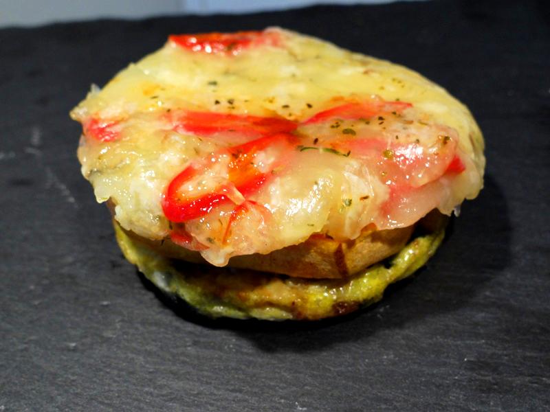 Mediterraner Harzer Käse Burger (4)