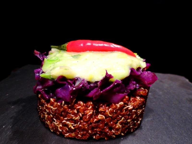 Roter Quinoa
