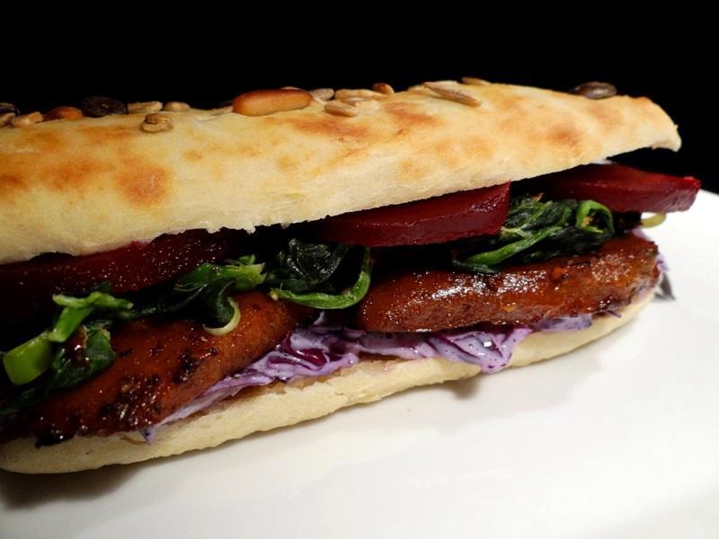 Seitan Sandwich 1