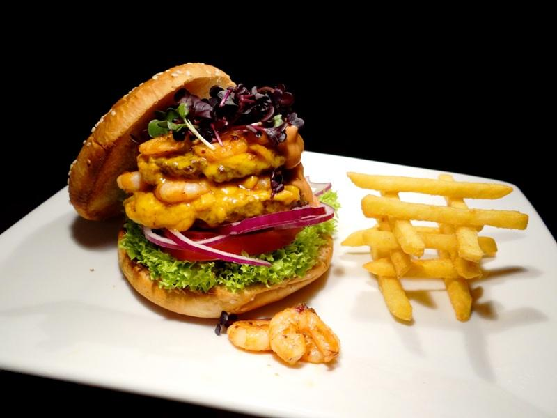 Surf´n Turf Burger